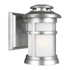 Newport Extra Small Lantern Painted Brushed Steel