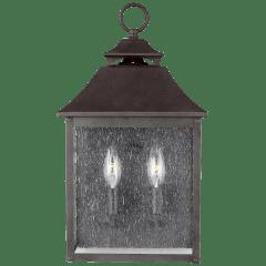 Galena Pocket Wall Lantern Sable