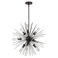 Hilo Small Outdoor Chandelier Oil Rubbed Bronze
