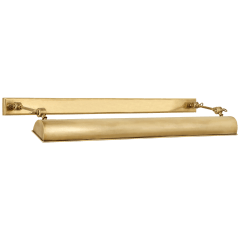 "Anette 24"" Picture Light in Natural Brass"