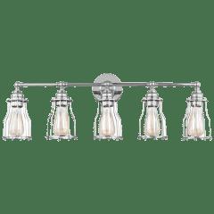 Calgary 5 - Light Vanity Chrome