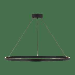 Fiama 48 Suspension matte black 3000K 90 CRI Integrated LED 90 cri 3000k 120v-277v unv