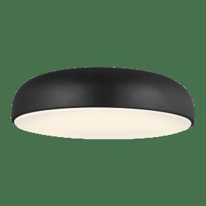 Kosa 18 Ceiling Nightshade Black 3000K 90 CRI Integrated LED 90 CRI 3000K 120v-277v unv
