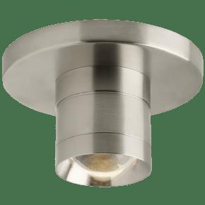 Sopra Flush Mount Metal Optic Ring satin nickel 3000K 90 CRI