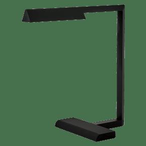 Dessau 16 Table Lamp 16 Nightshade Black 2700K 90 CRI Integrated LED 90 cri 2700k 120v