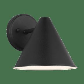 Crittenden Small One Light Outdoor Wall Lantern Black