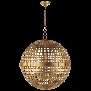Mill Large Globe Lantern in Gild