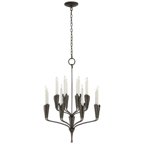Aiden Small Chandelier in Aged Iron