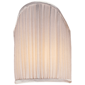 """4"""" x 5.5"""" Silk Pleated Candle Clip Shield"""
