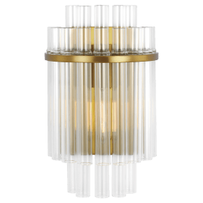 Beckett Sconce Burnished Brass