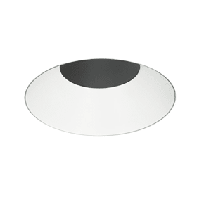 "3"" Adjustable & Downlight Round Trim Round white"