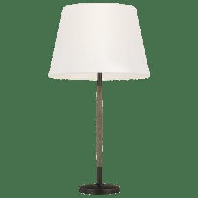 Ferrelli Table Lamp Weathered Oak Wood Bulbs Inc
