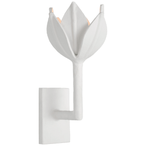 Alberto Small Sconce in Plaster White