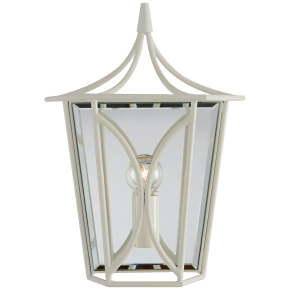 Cavanagh Mini Lantern Sconce in Light Cream