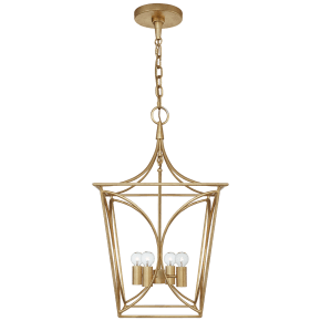 Cavanagh Small Lantern in Gild