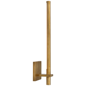 Axis Medium Sconce in Antique-Burnished Brass