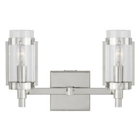 Flynn 2 - Light Vanity Polished Nickel