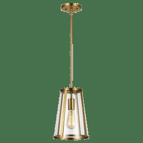 Harrow Mini Pendant Burnished Brass