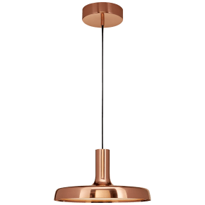 "Farmhouse Dot 13"" Pendant in Soft Copper"