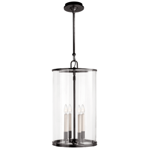 Modern Large Lantern in Bronze