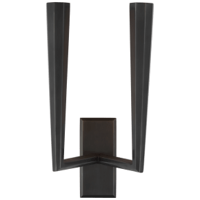 Galahad Double Sconce in Bronze