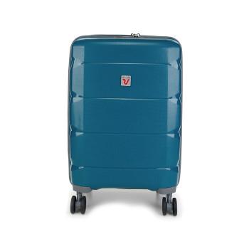 Mala de Bordo Italiana - Rígida - Azul