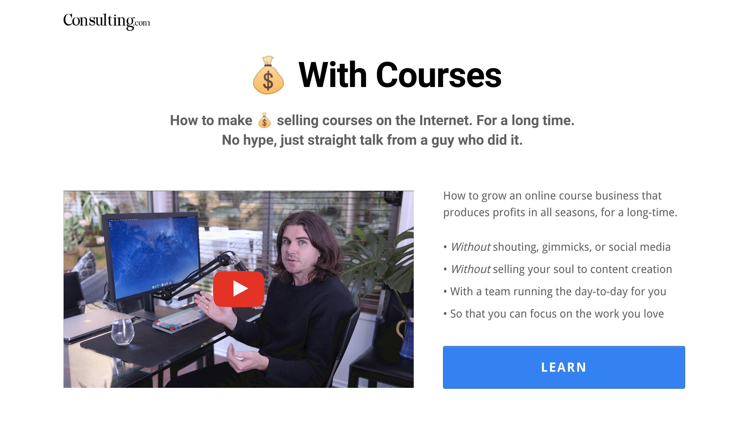 Sam Ovens - Consulting.com