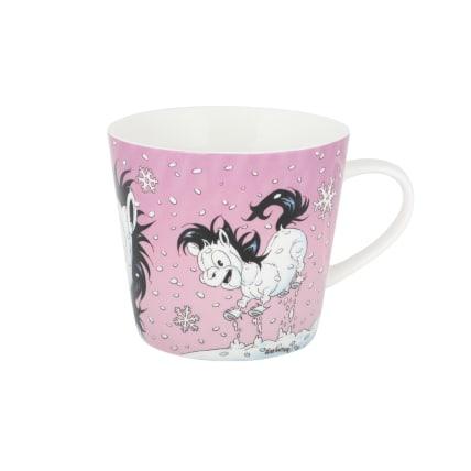 Lena Furberg Bandit Christmas Mug Snowflake
