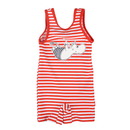Moomin Dive Swimsuit red/white