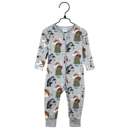 Moomin Yikes Pyjamas grey melange