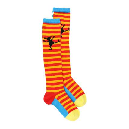 Pippi Longstocking Happy Pippi Knee High Socks