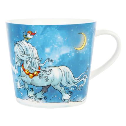 Lena Furberg Horses Mug Jingle Bells