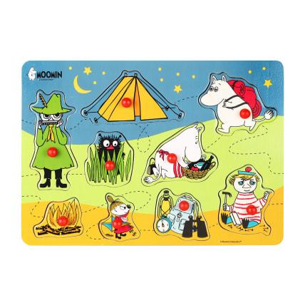 Moomin Camping Peg Puzzle
