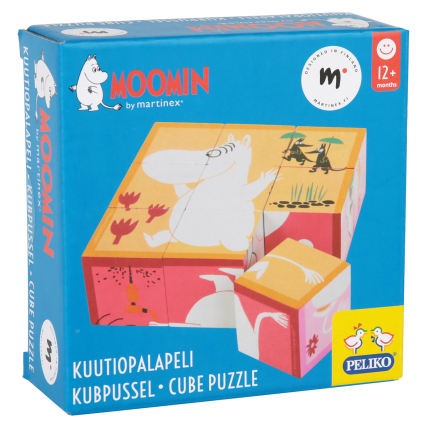 Moomin Cube Puzzle 9 Pieces