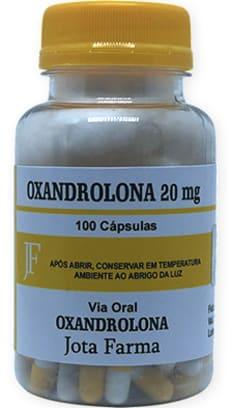 Oxandrolona - Manipulada - Anavar - 20mg - 5 unidades