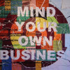 Richard Bell, 'Mind your own business', 2012, acrylic on canvas.