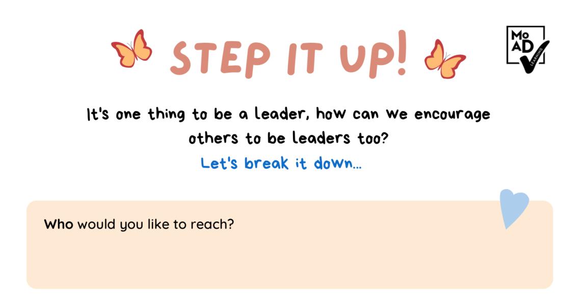 Student leadership image