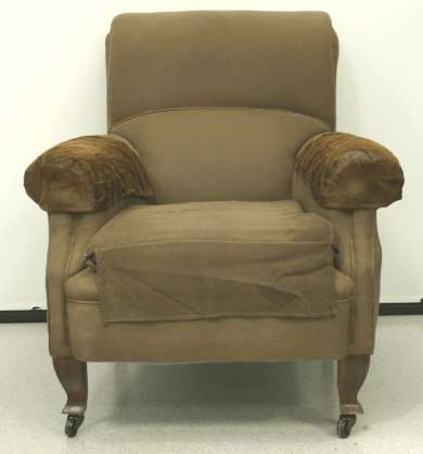 Armchair presented to John Curtin by the board of the Westralian Worker.
