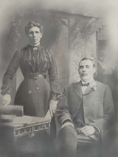 Photograph of Ben Chifley's parents, Patrick and Mary Ann Chifley