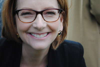 Portrait of Julia Gillard