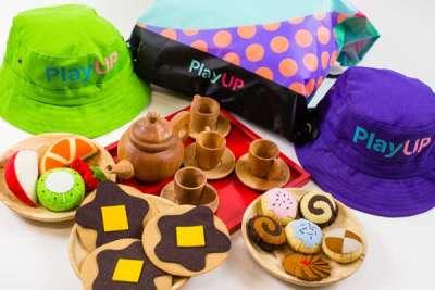 PlayUP merchandise