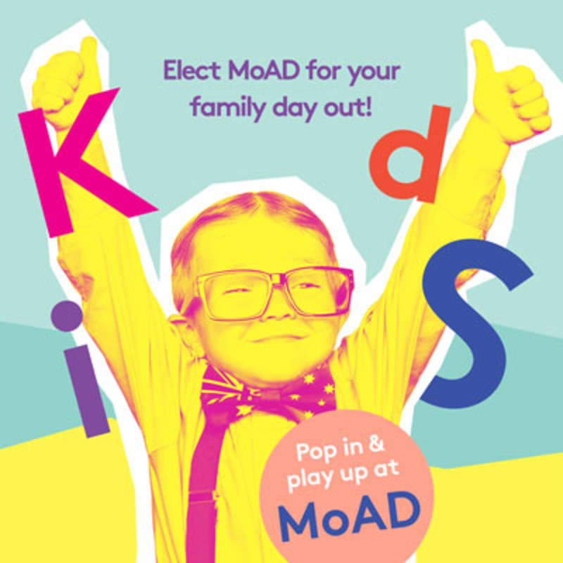 Pop in & play up at MoAD