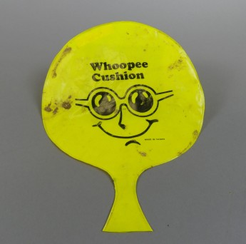 Perhaps the most surprising find of all the Whoopee Cushion. MOAD Collection.