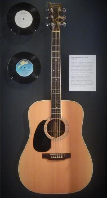Cause and effect: John Schumann used this guitar to write one of Australia's most iconic and influential songs.