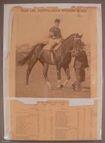 Phar Lap poster, Museum of Australian Democracy collection