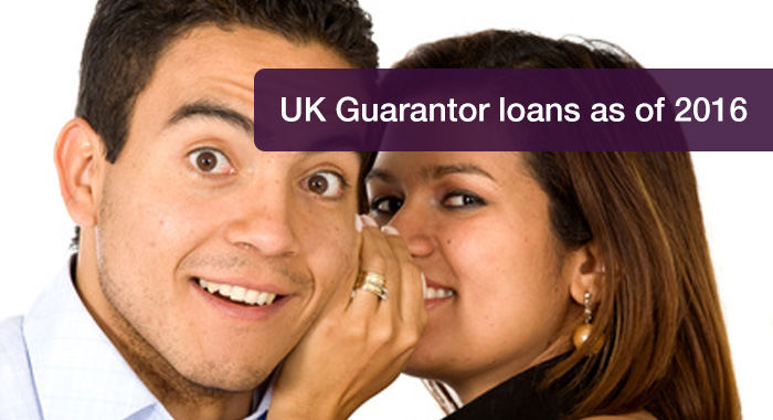 UK Guarantor loans as of 2016