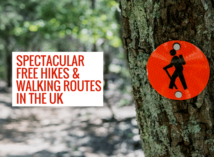 Spectacular walking routes in the UK