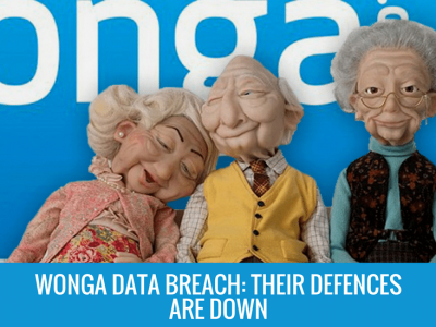 Wonga Data Breach: Wonga's Defences are Down