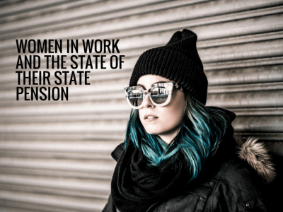 Staying late at work and the state pension for women