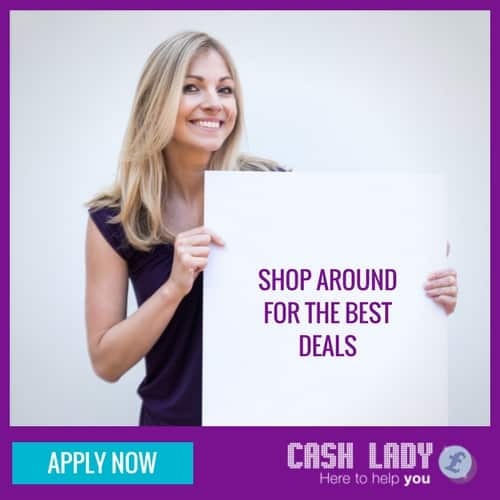 Avoid small loans by shopping around for the best deal